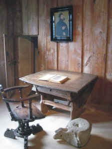 Luther's room where he was translating the Βible