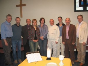 One of the first visits of Northumbria Community people at IBTS (2006)