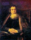Komensky's portrait by Rembrandt